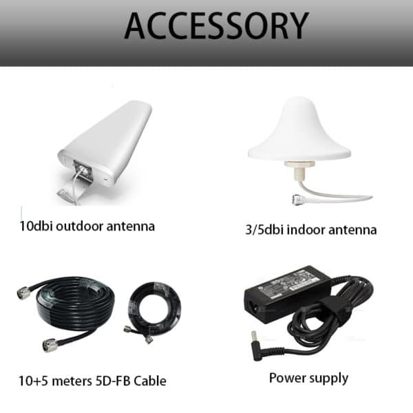 Mobile Booster accessory kits